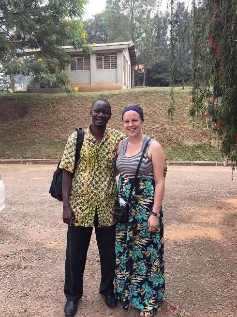 2015 Guerrant CGH Scholar Anna Long in Uganda