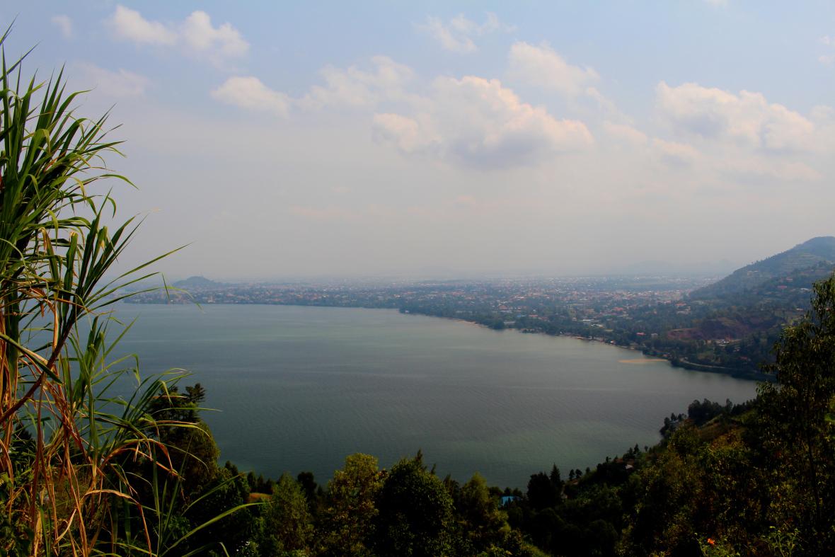 Photo Credit: Alice Burgess and Emily Romano - Lake Kivu View, Rwanda