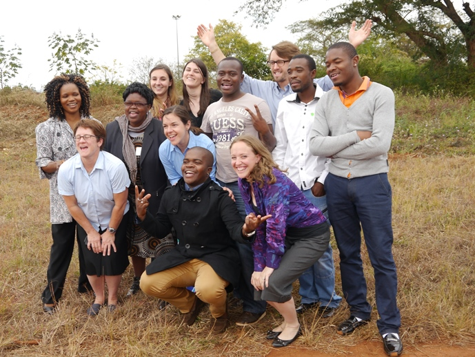 2014 CGH CHIL Team in Limpopo, South Africa
