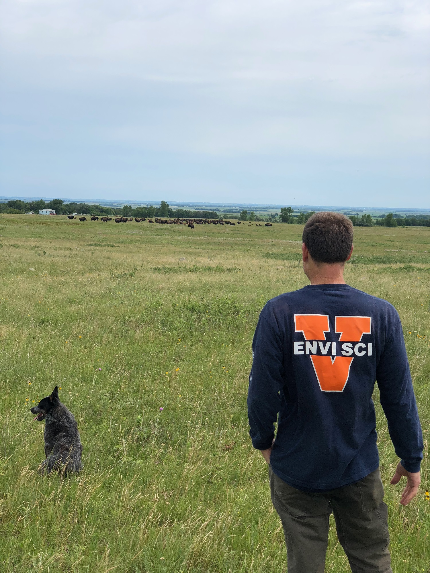 2018 Students working on the UVA-SWO Partnership for Rangeland Ecology Research and Education project, USA