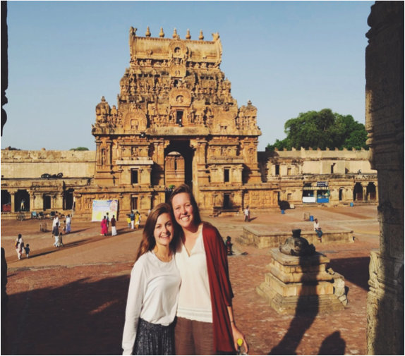 2016 CGH Ram Family Scholars: Claudia Muratore and Mary Long in India