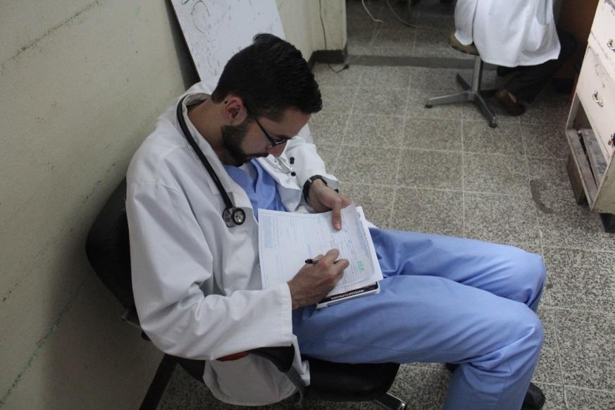Dr. Rodolfo Villarreal-Calderon in Guatemala