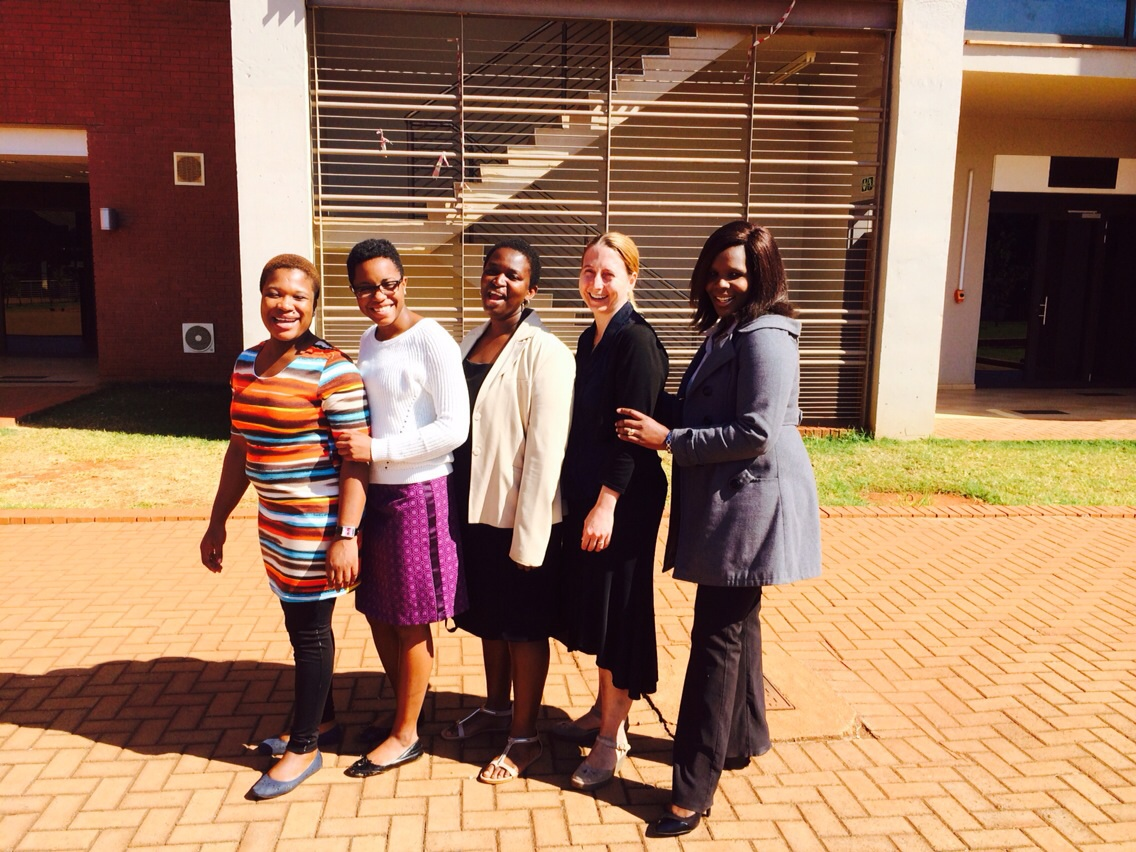 MHIRT Scholars and Faculty in South Africa