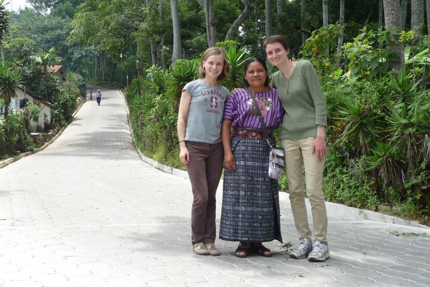 Photo Credit: 2015, CGH Scholar, Alena Pugacheva and Lauren Catlett, South Lake Atitlán, Guatemala