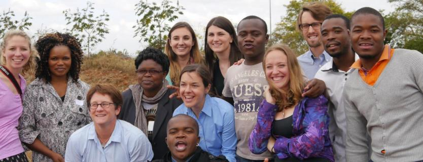 2014 CGH CHIL scholars and University of Venda students in South Africa