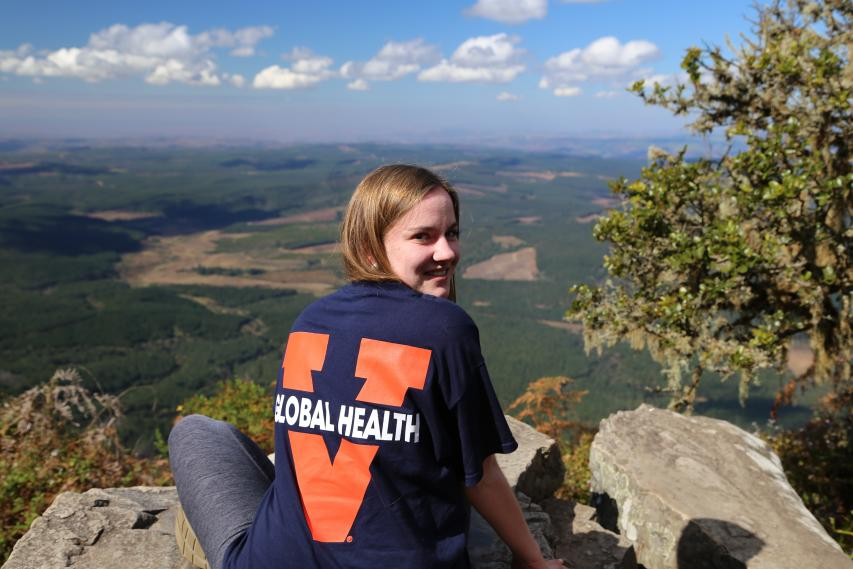 2015 CGH Scholar Callie Johnson in South Africa