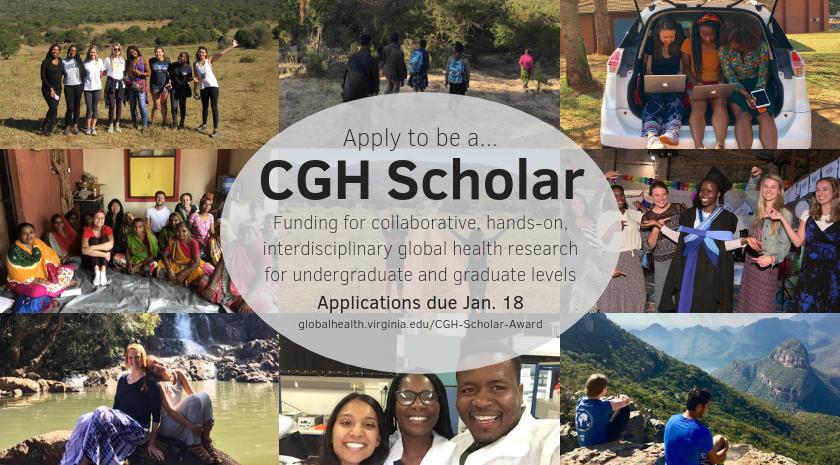 2019 Center for Global Health Scholar Award Deadline