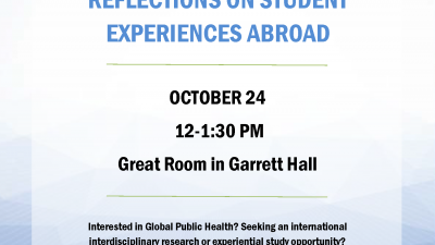 Exploring Global Public Health: Reflections on Student Experiences Abroad