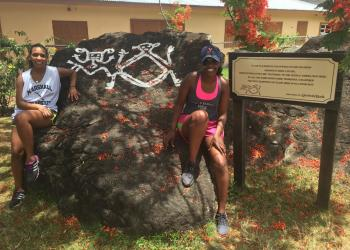 2016 CGH Scholars Maha Hassan and Deega Omar - St. Kitts