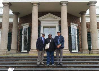 UNIVEN leadership visits Charlottesville in 2018: VC Crafford, DVC Martin and DVC Khosa