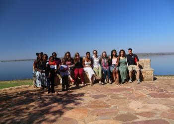 2015 CGH Scholars CHIL Team and Univen Students in South Africa