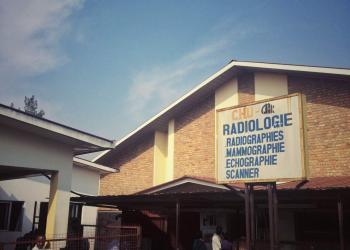 Alice Burgess and Emily Romano - Radiology CHUK, Rwanda