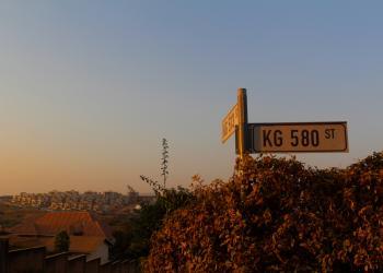 Photo Credit: 2016 CGH Scholars Alice Burgess and Emily Romano - Street Sign, Rwanda