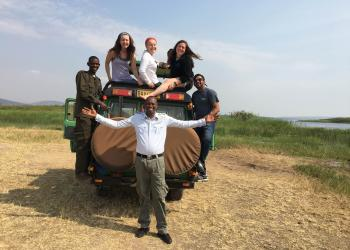 Photo Credit: 2016 Glenn and Susan Brace CGH Scholar, Eliza Campbell in Rwanda