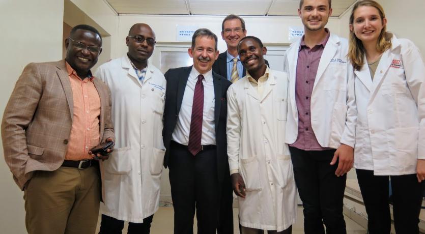 Friends and Colleagues in Rwanda, 2019