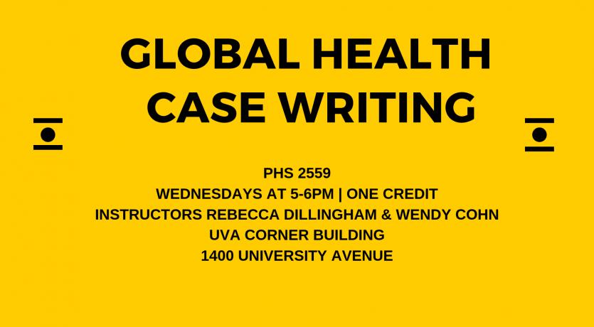 Global health case writing