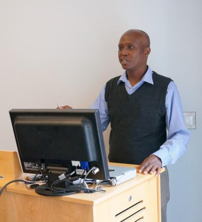 George G. Maina, PhD